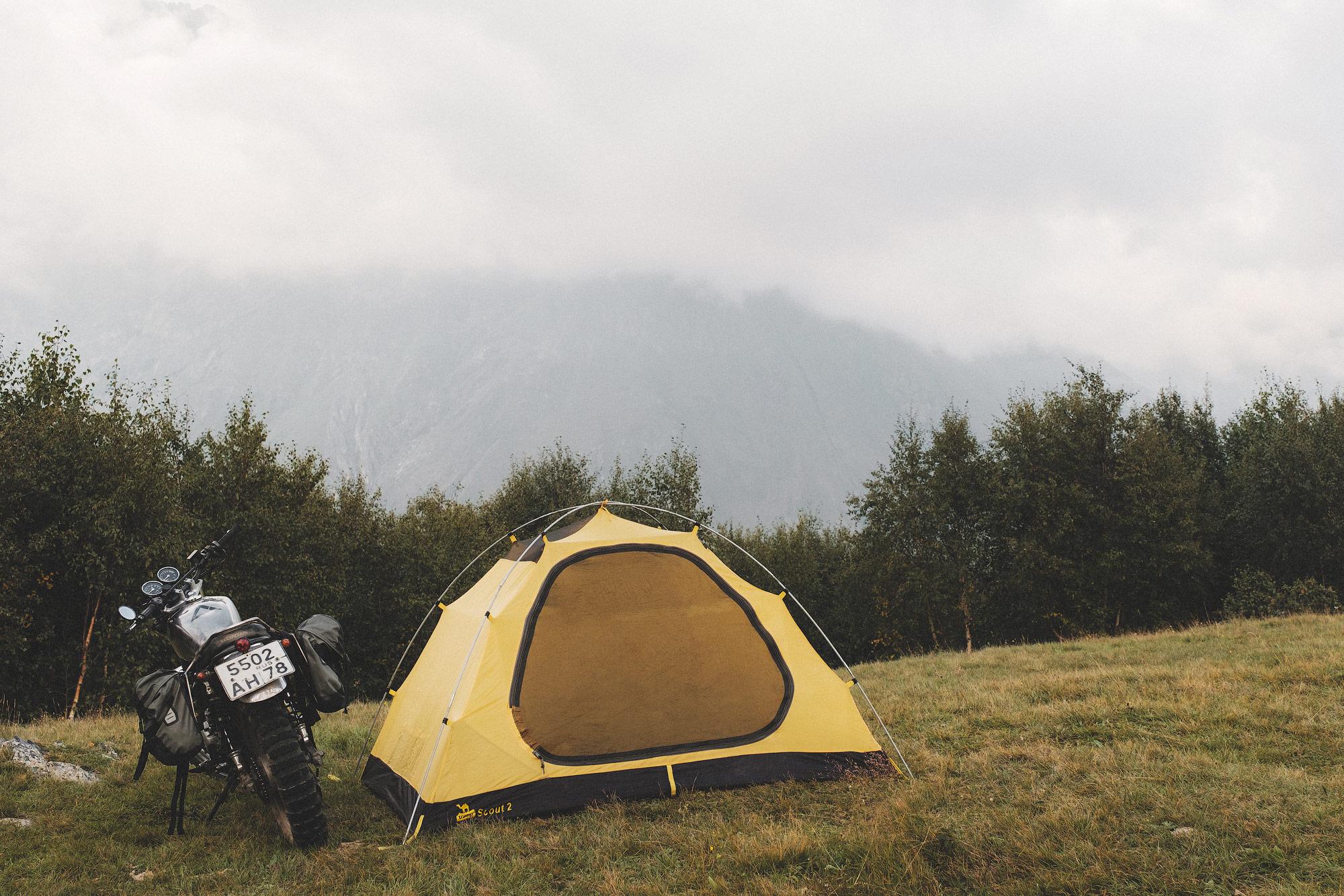 В Грузию на мотоцикле
